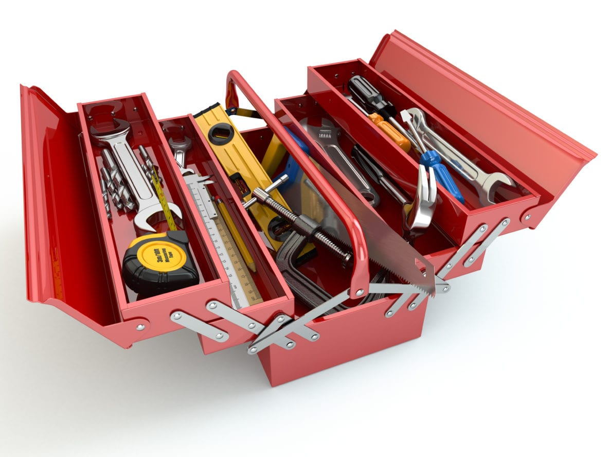 truck toolbox organization