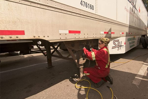 Dieseltech has assisted with one of the trucks on highway one